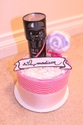 Star Wars Diaper Cake by Creations by Sonia... find more at www.creationsbysonia.ca