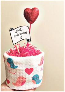 Valentines Day Towel Cake! by Creations by Sonia @creationsbysh