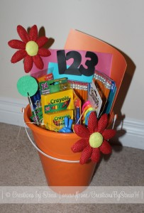 Teacher Back to School Gift Basket by Creations by Sonia