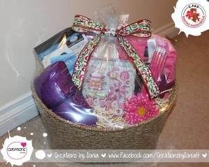 Scrapbooking Gift Basket by Creations by Sonia @creationsbysh