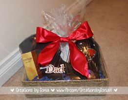 Dad Gift Basket by Creations by Sonia @creationsbysh