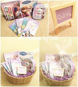 Frozen Gift Basket by Creations by Sonia