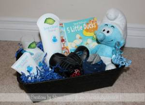 Baby Boy Gift Basket by Creations by Sonia @creationsbysh