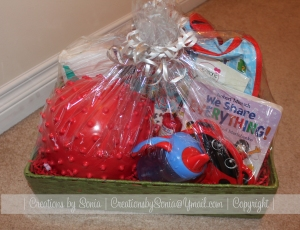 Toddler Gift Basket by Creations by Sonia