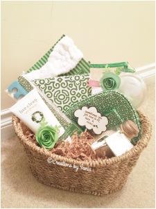 Spa Gift Basket { www.creationsbysonia.ca }