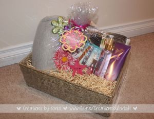 Gift Basket for Mom by Creations by Sonia