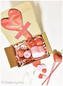 Valentines Day Gift Box by Creations by Sonia @creationsbysh