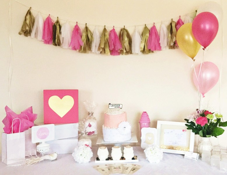 Creations by Sonia - Table Styling - Diaper Cake, Tassel Banner, Prints, Favors! e: hello@creationsbysonia.ca