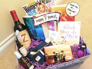 Seven Deadly Sins Gift Box - Happy 7 Years - { www.creationsbysonia.ca }