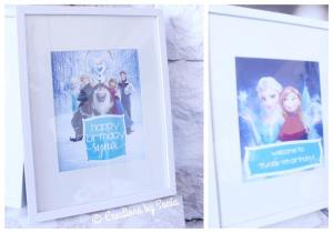 Frozen Birthday Party - Printables, Signs - {www.creationsbysonia.ca}