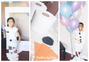 Frozen Party - Birthday Game - Look, it's Olaf! {www.creationsbysonia.ca}