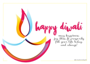 Happy Diwali! Celebrate the light that Shines from Within @creationsbysh www.creationsbysonia.ca