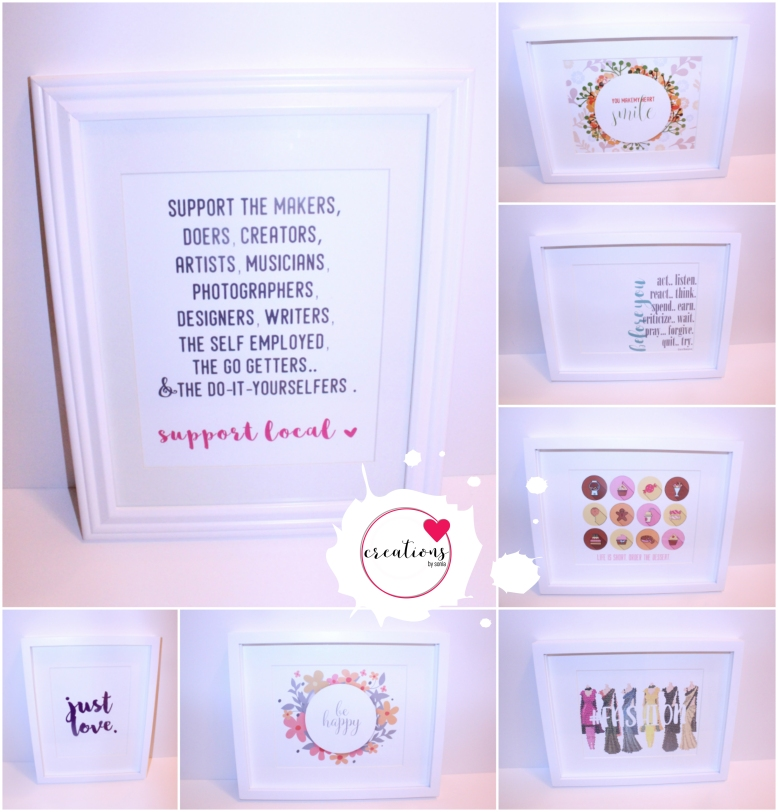 Creations by Sonia - Prints / Wall Art